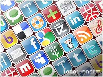 66-logorunner-social-bookmarking-icons