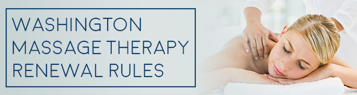 Washington Massage Therapy License
