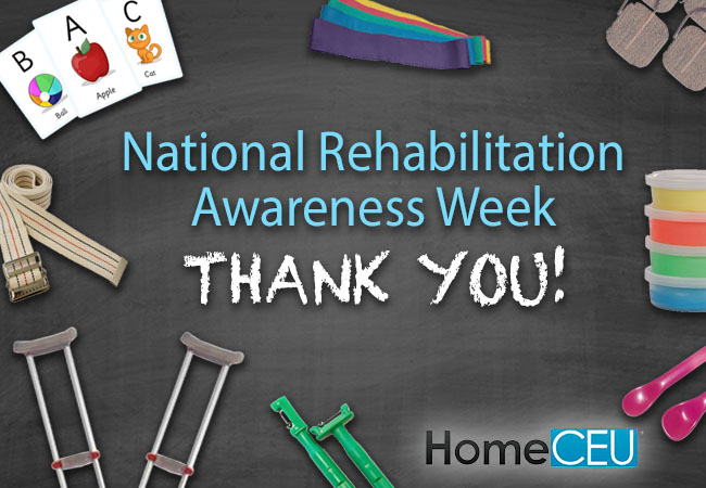 National Rehabilitation Awareness Week