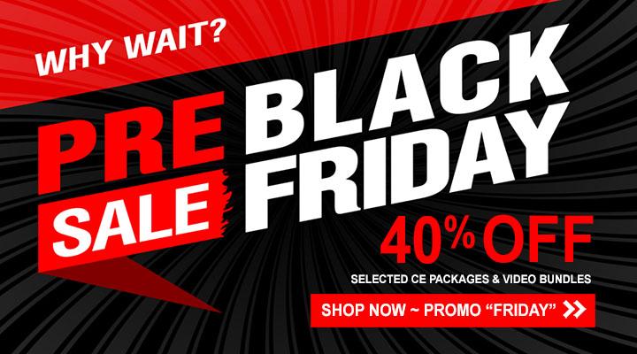 Pre-Black Friday CEU Sale