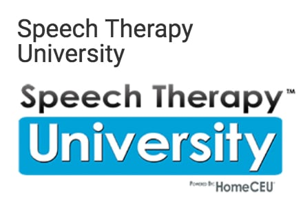 Speech Therapy University Login