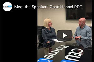Get to Know Your CE Presenters! Dr. Chad Hensel, PT, DPT, MHS, CSCS